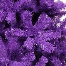 Artificial Christmas Tree 6ft by Purple Artificial Christmas Tree