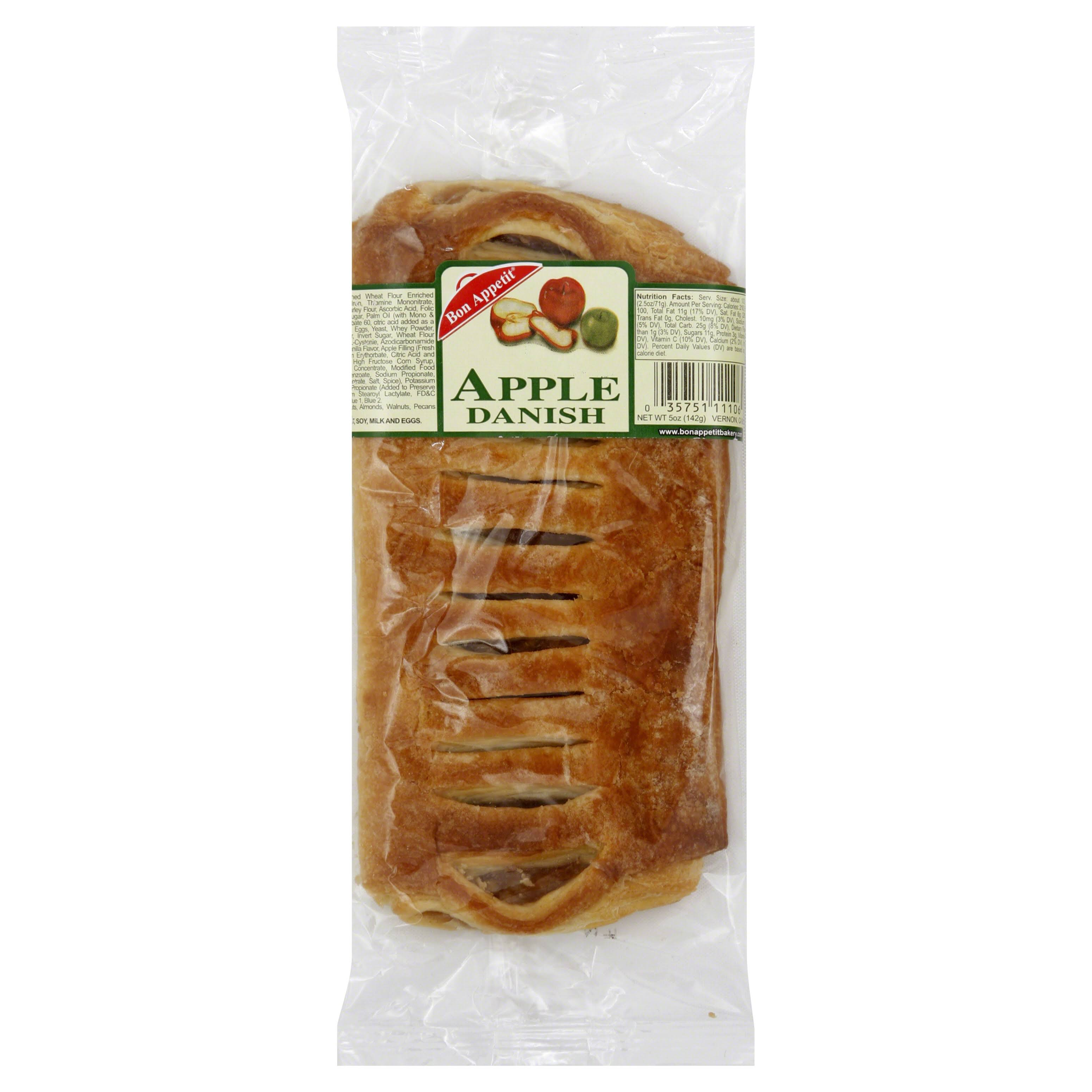 Bon Appetit Large Gourmet Apple Danishes - 6pcs