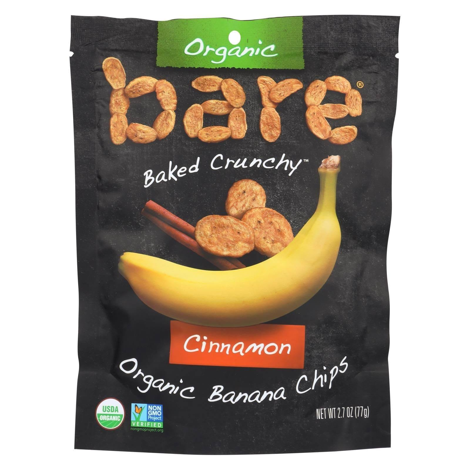 Bare Fruit Banana Chips - Cinnamon, 2.7oz