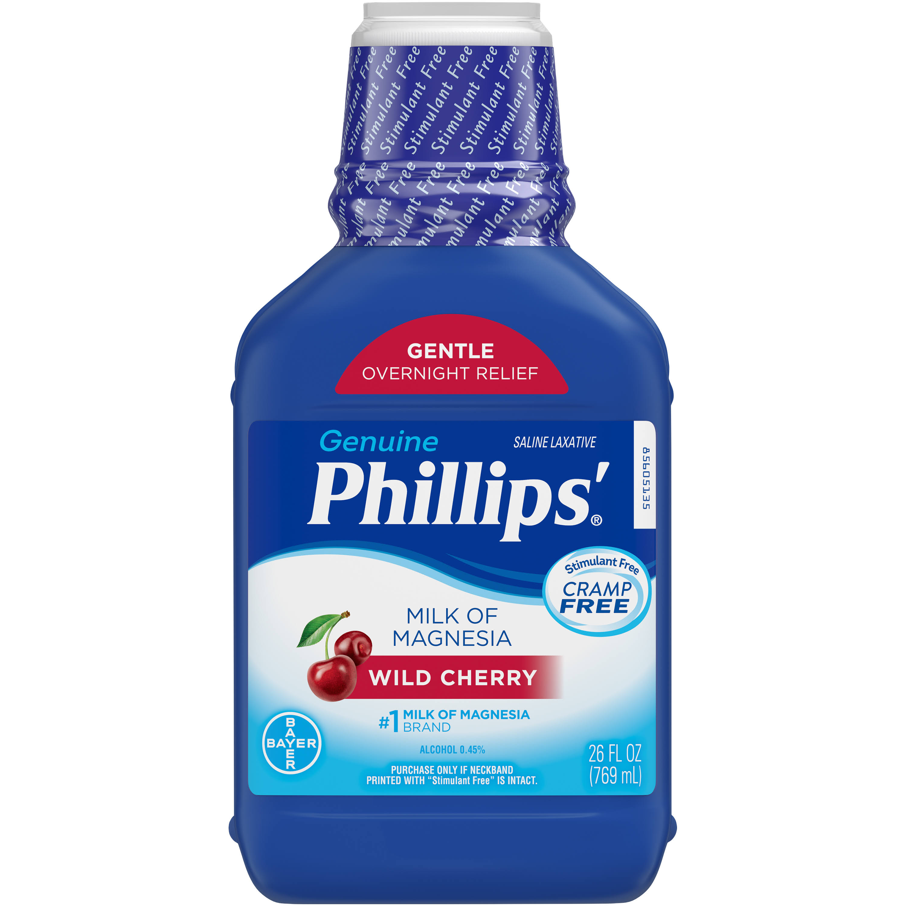 Bayer PhillipsSaline Laxative - Wild Cherry, 26oz