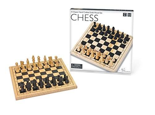 Intex Wooden Chess Board Game