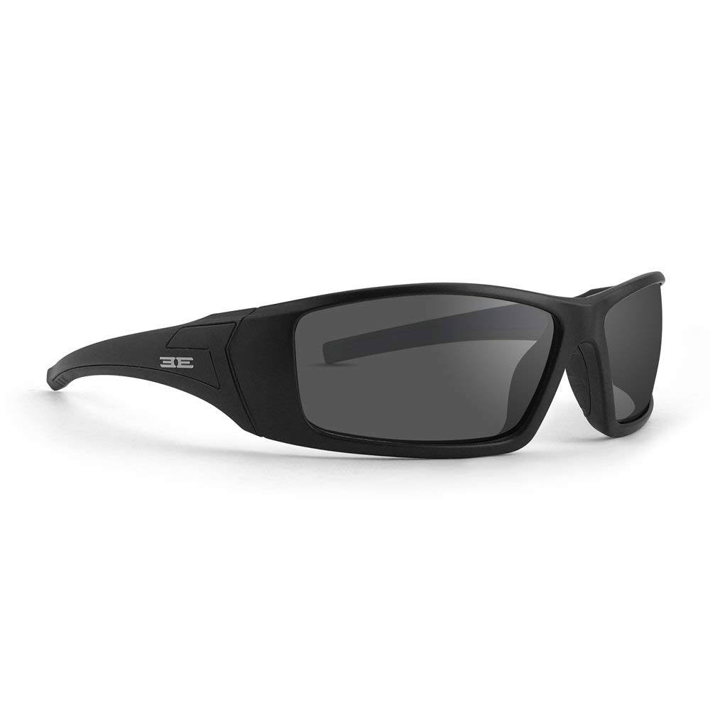 Epoch Eyewear 3 Sporty Black Full Frame Sunglasses