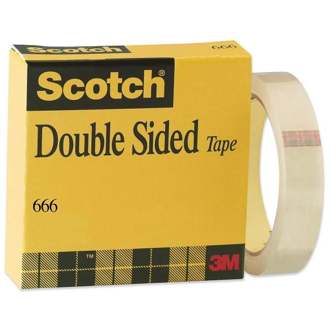 Scotch Double Sided Tape with Liner
