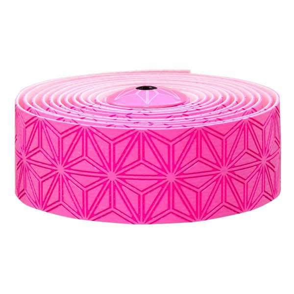Supacaz Super Sticky Kush Bar Tape - Neon Pink, 3mm X 30mm