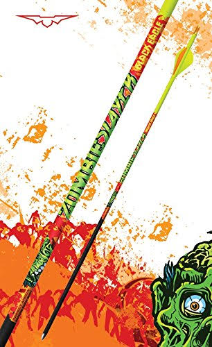 Black Eagle Zombie Slayer Crested Arrows .003 6pk 350