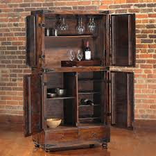 Crate And Barrel Monaco Bar Cabinet by Bar Cabinet Ideas Furniture Brown Wood Bar Cabinet Ideas Together