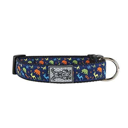 RC Pet Products Wilderness Adjustable Clip Dog Collar X-Small