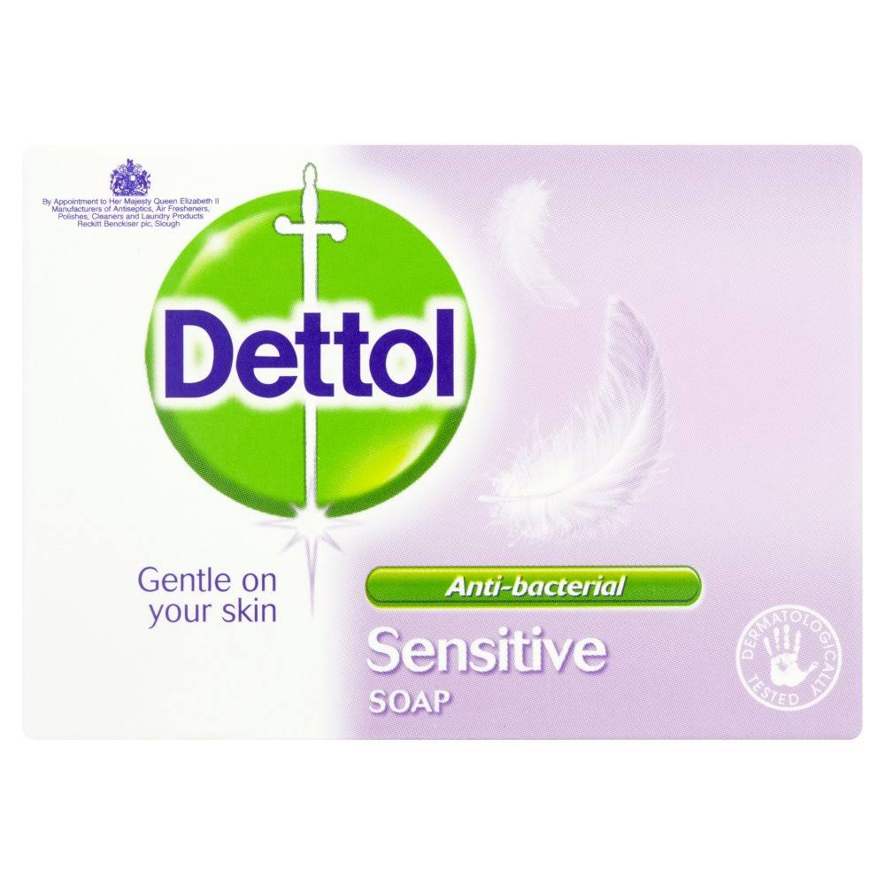 Dettol Antibacterial Bar Soap - Sensitive, 100g
