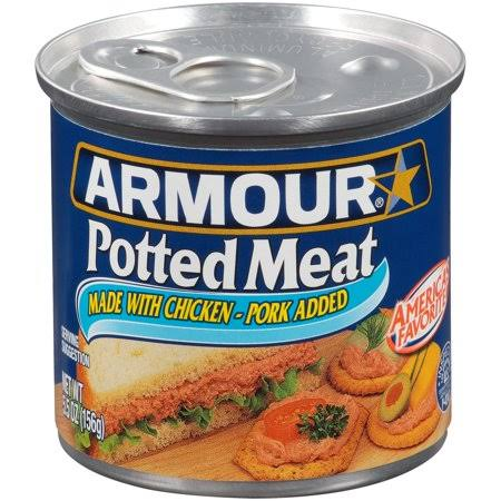 Armour Potted Meat - Chicken and Beef, 5.5oz