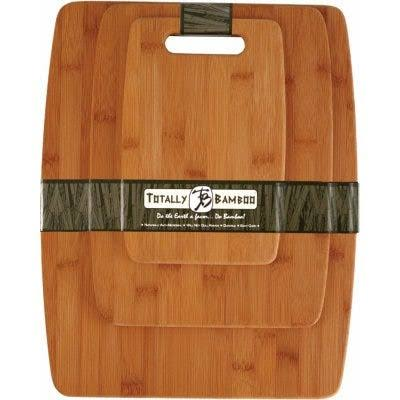 Totally Bamboo Cutting Board Set - 3 Piece