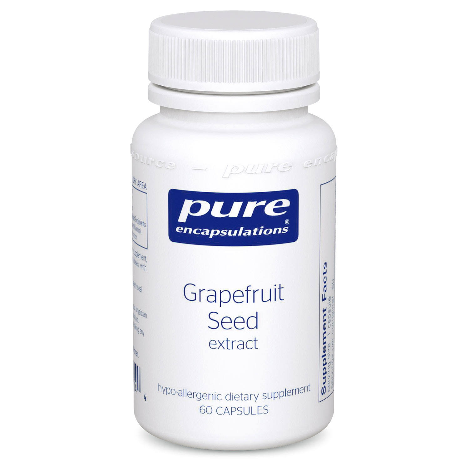 Pure Encapsulations - Grapefruit Seed Extract - 60 Capsules