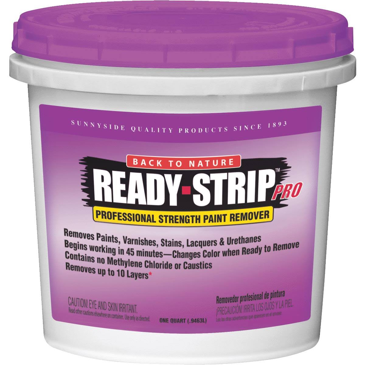 Sunnyside Ready Strip Professional Strength Paint Remover - 1qt