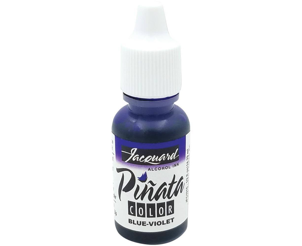 Jacquard Pinata Color Alcohol Ink .5oz-Blue Violet