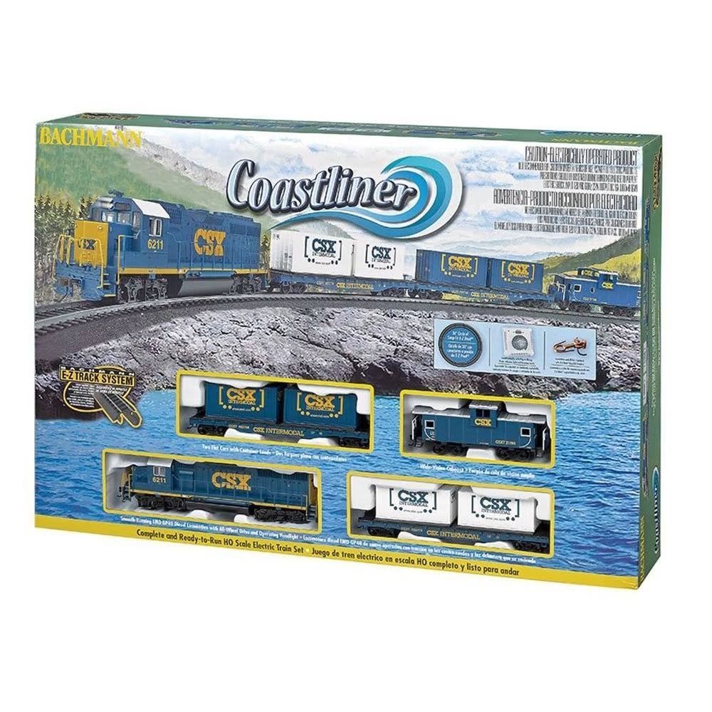 Bachmann Trains Coastliner - HO Scale Ready to Run Electric Train Set