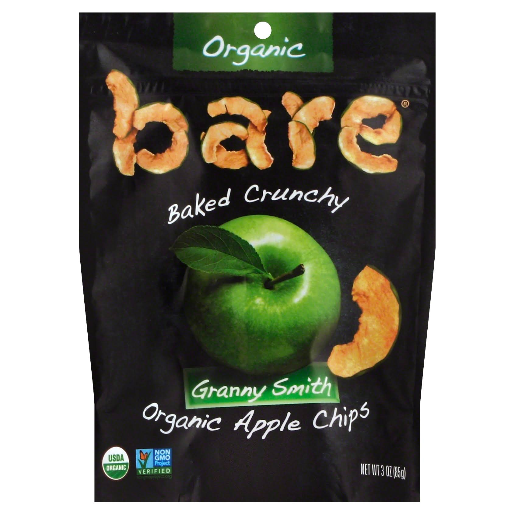 Bare Great Granny Crunchy Chips - Apple, 3oz