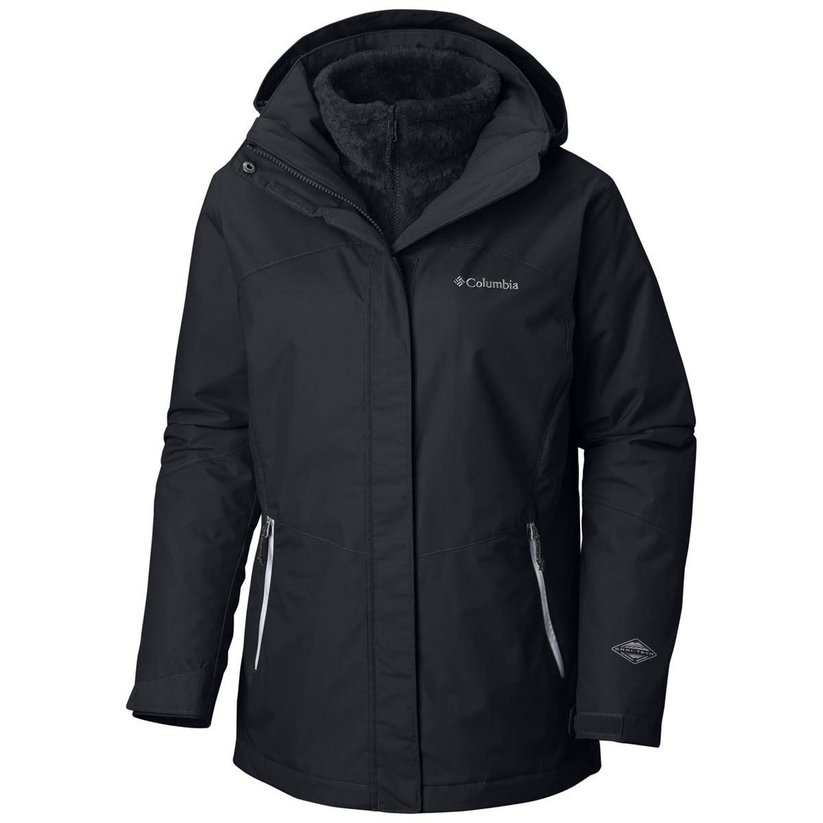 Columbia Bugaboo II Fleece Interchange Jacket Women's Black Small