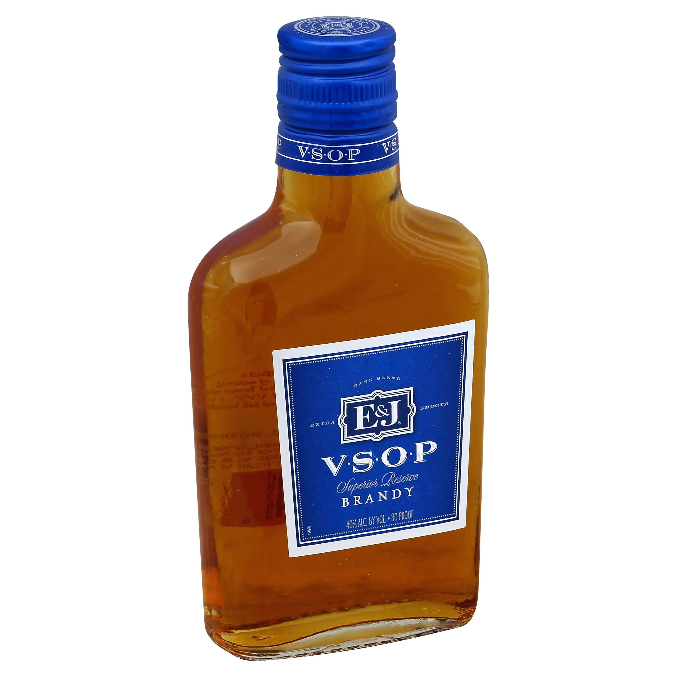 E & J VSOP Brandy, Superior Reserve - 200 ml