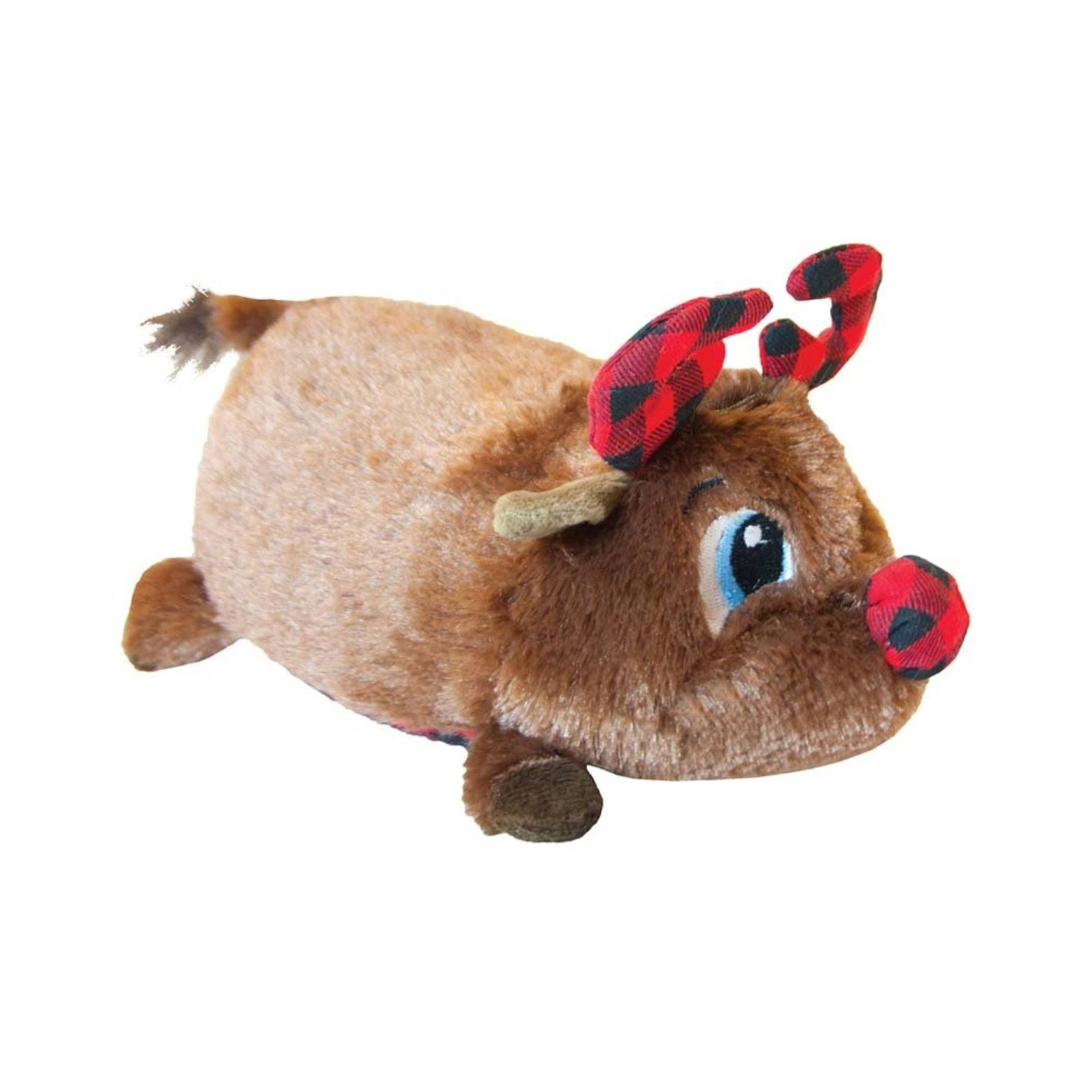 Petstages Fattiez Reindeer Dog Toy