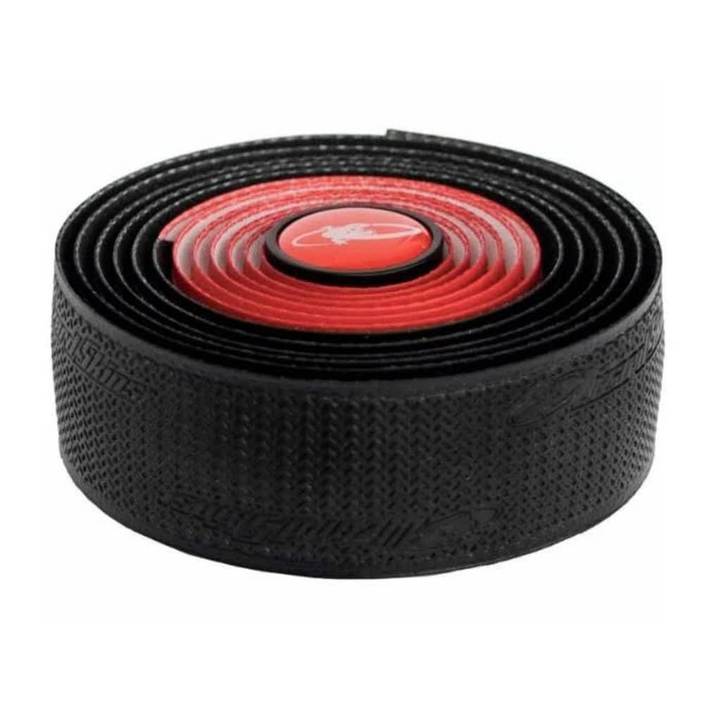 Lizard Skins Tape & Plugs Bar Tape - Red & Black