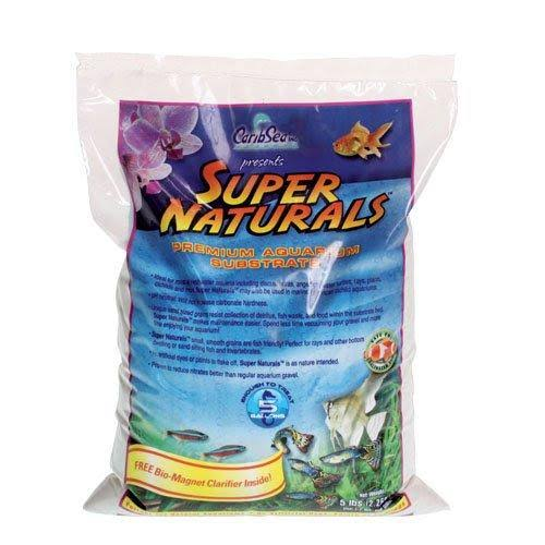 Carib Sea Super Natural Moonlight Sand for Aquarium - 5lbs