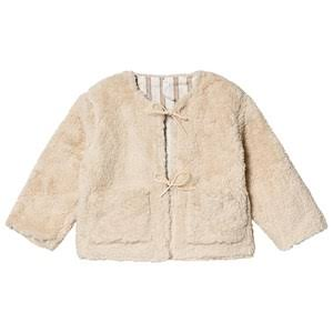 Rylee + Cru Ivory Reversible Teddy Jacket