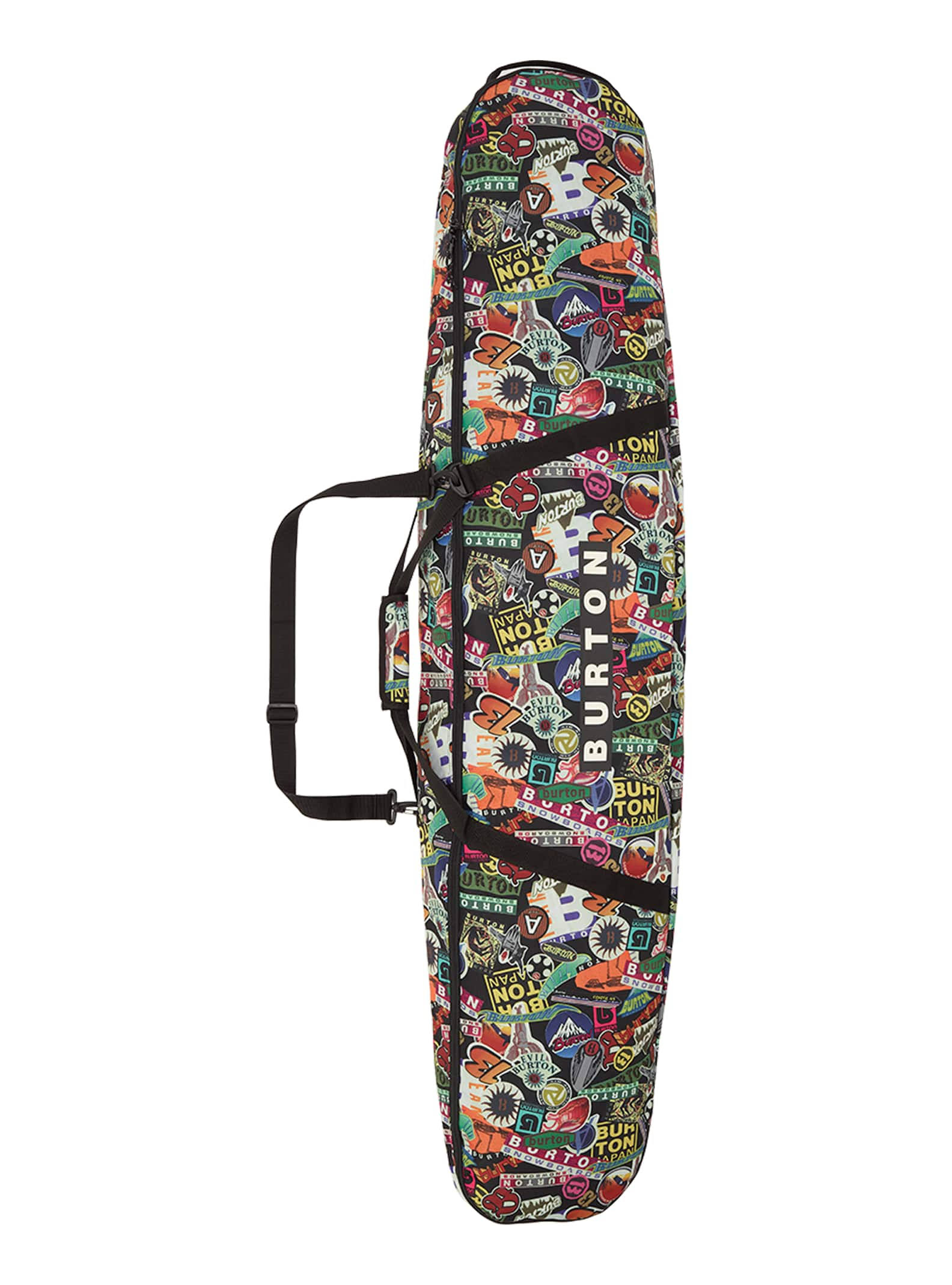 Burton Space Sack Board Bag Stickers Print
