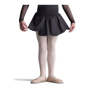Capezio Dance Girls' Petal Skirt, Black