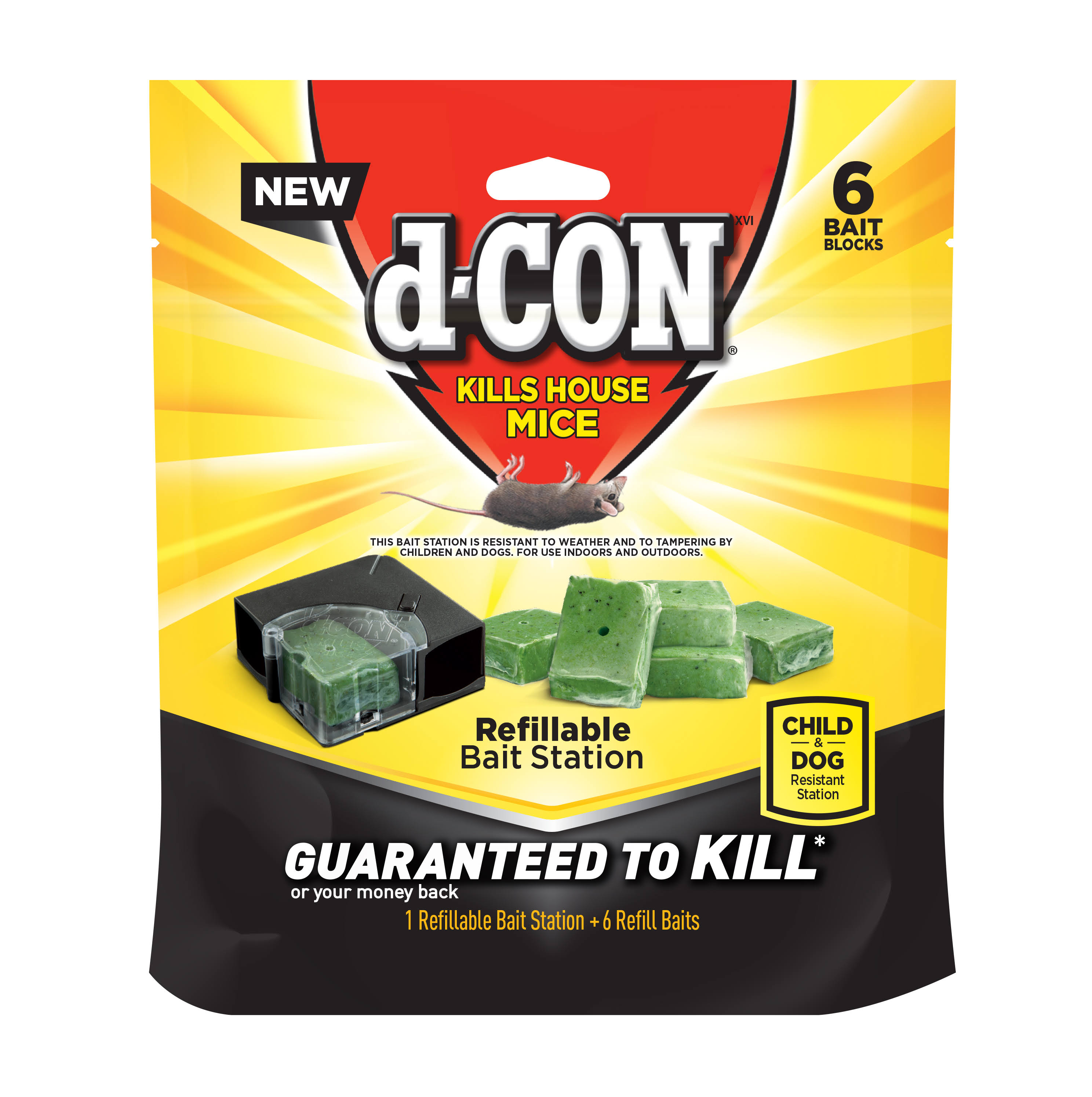 d-CON Refillable Bait Station & Refills