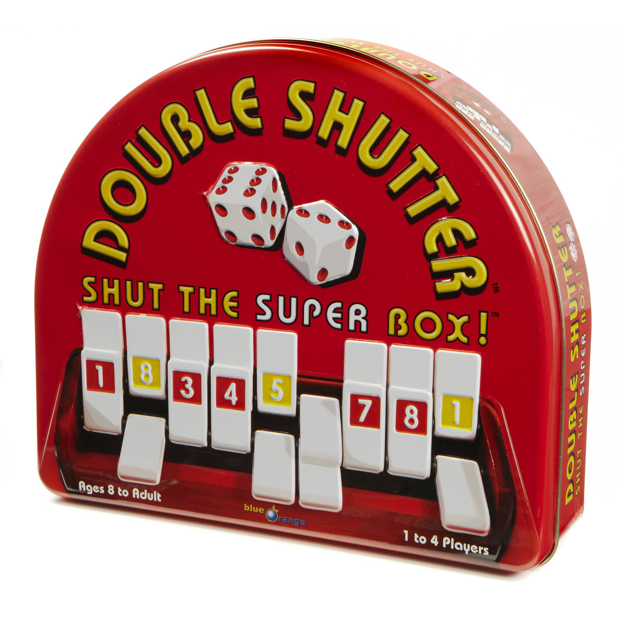 Blue Orange Double Shutter Tin Game