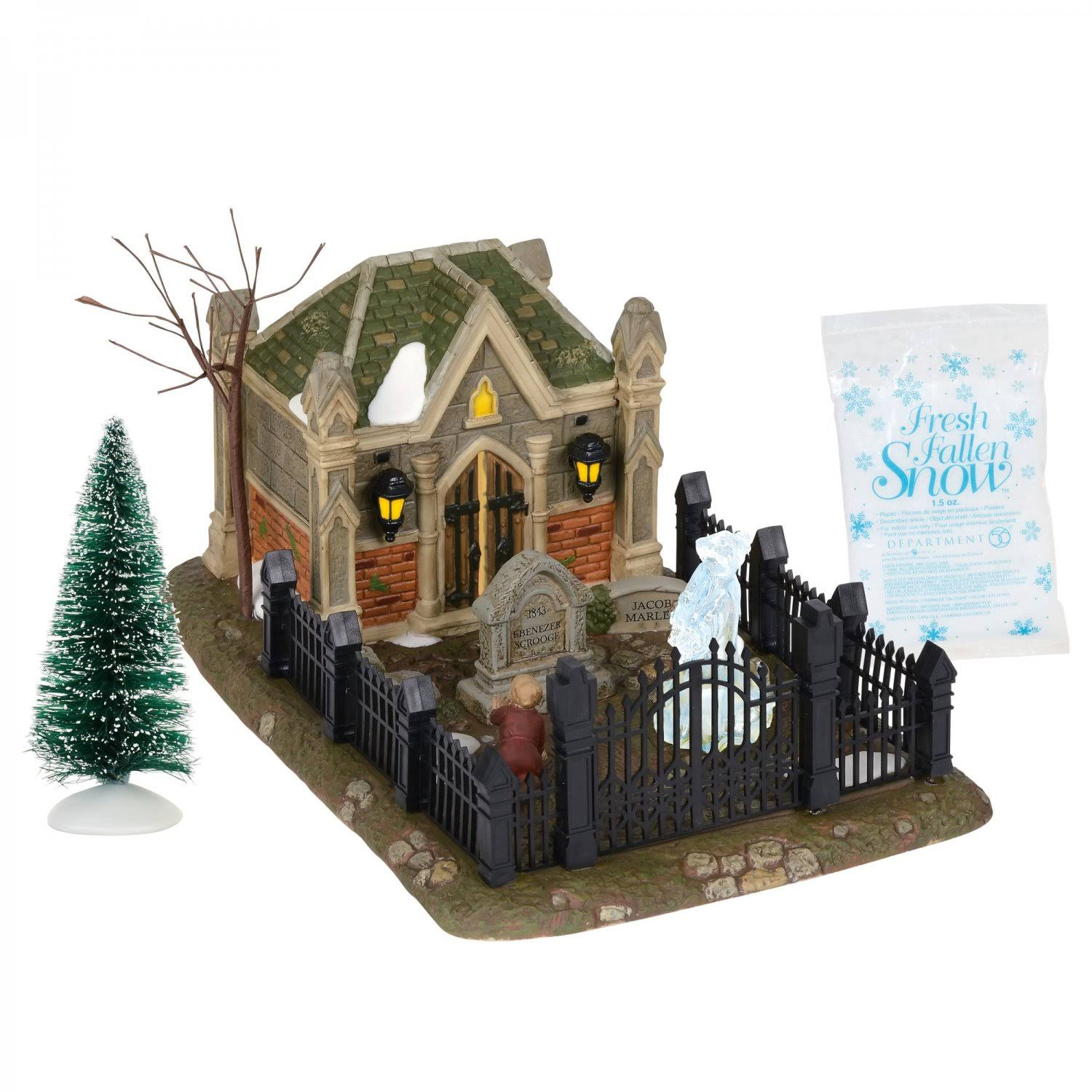 Department 56 Dickens 6000601 Christmas Carol Cemetery Set - 9.75""