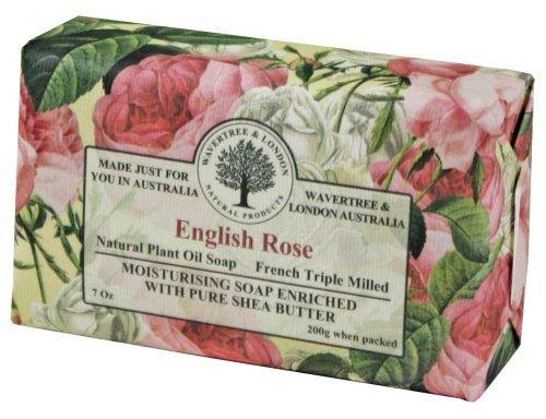 Wavetree & London French Triple Milled Soap - English Rose, 200g