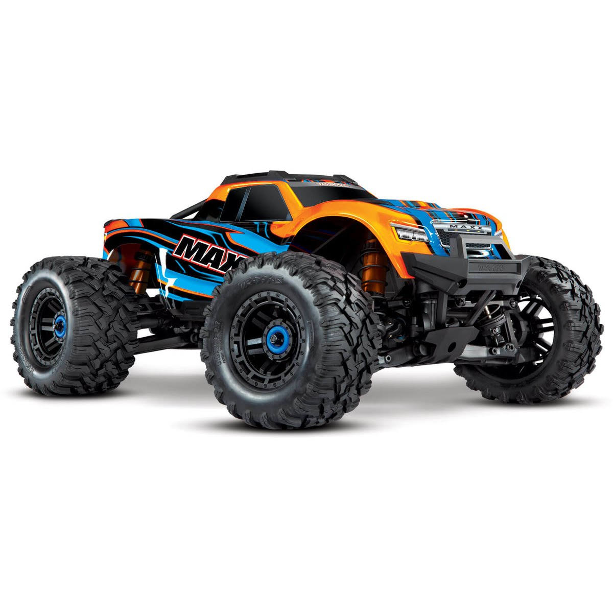 Traxxas 89076-4 - Maxx 1/10 4x4 Monster Truck RTR, Orange