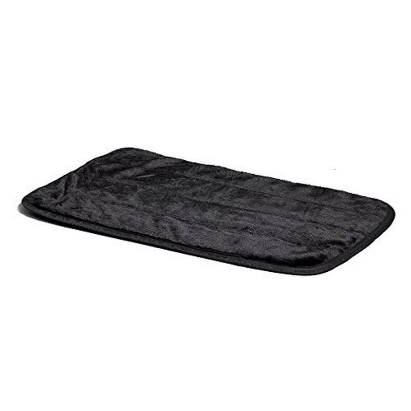 "Midwest Dog Deluxe Pet Mat - 30"" x 19"", Black"