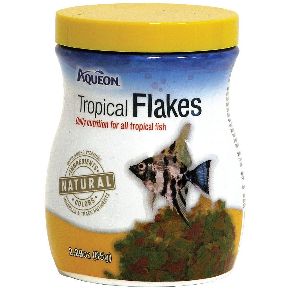 Aqueon Tropical Flakes - 65g