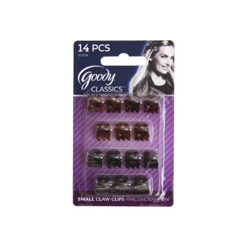 Goody 41314 Mini Claw Clips - 14 Pieces