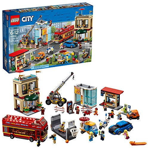 Lego 60200 City Capital City Building Kit - 1211 Pieces