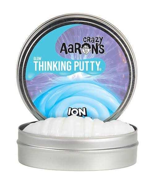 Crazy Aaron's Glow in The Dark Thinking Putty Ion