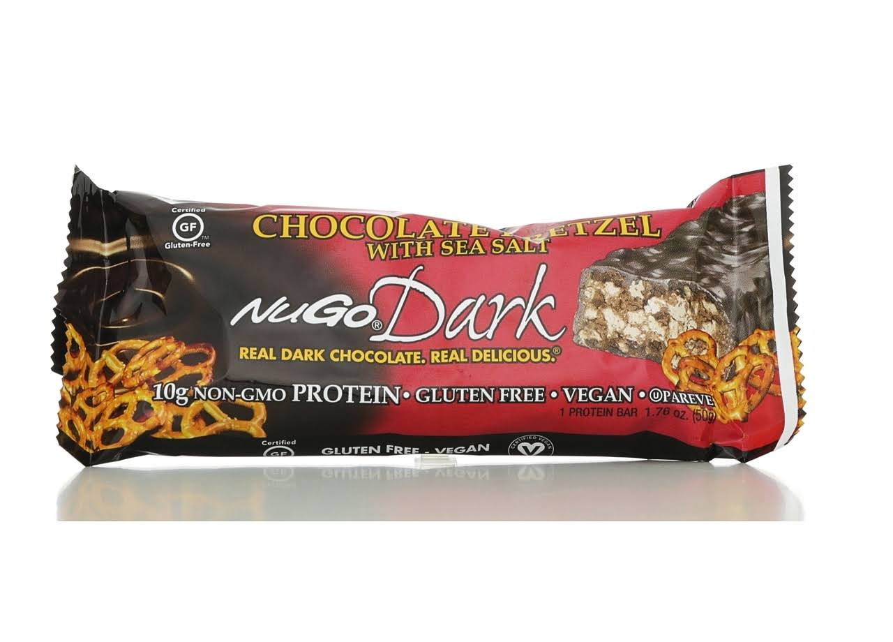 Nugo Nutrition Dark Chocolate Pretzel with Sea Salt Protein Bar - 1.76oz
