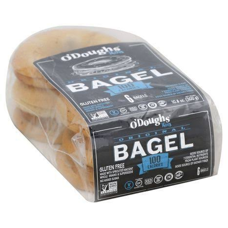 O'Dough Gluten Free Bagel Thins - Orignal, 10.58oz