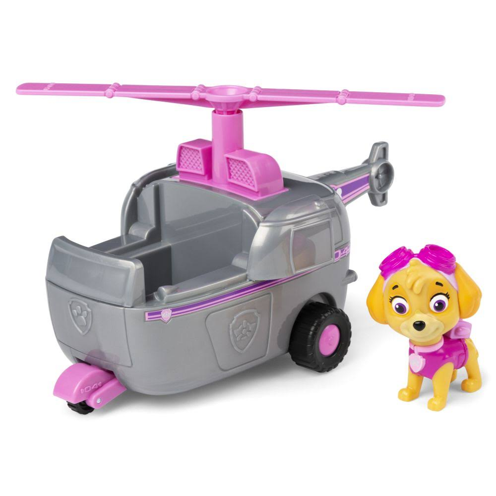 Paw Patrol, Skye's Helicopter Vehicle with Collectible Figure, for Kids Aged 3 and Up