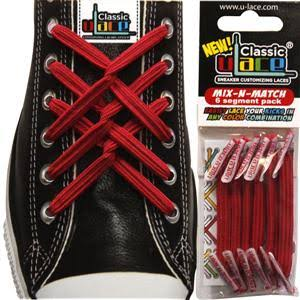 U-Lace Custom Shoelaces