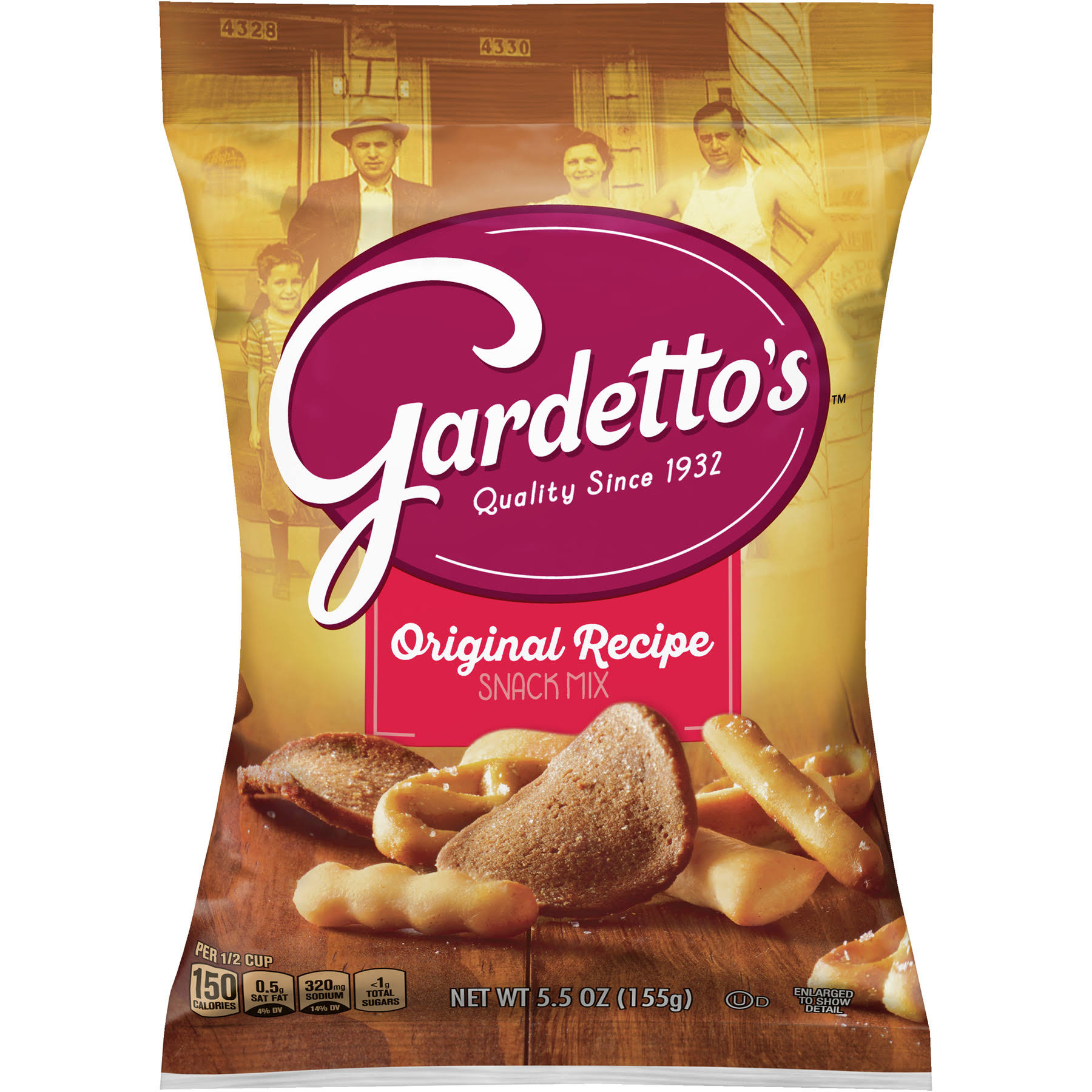 Gardetto's Snack Mix - Original Recipe, 5.5oz