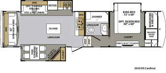 5th Wheel Toy Hauler Floor Plans by Forest River Cardinal Floor Plans Fifth Wheel Forest Rv Dealer