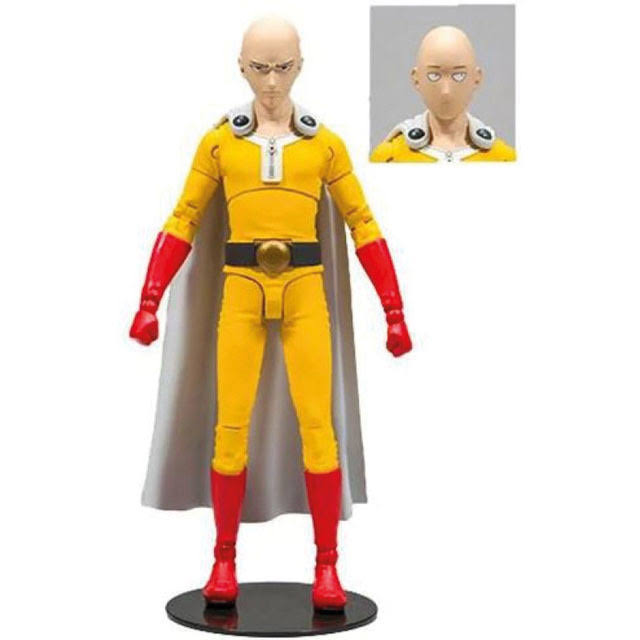 One Punch Man Saitama 7 in Action Figure