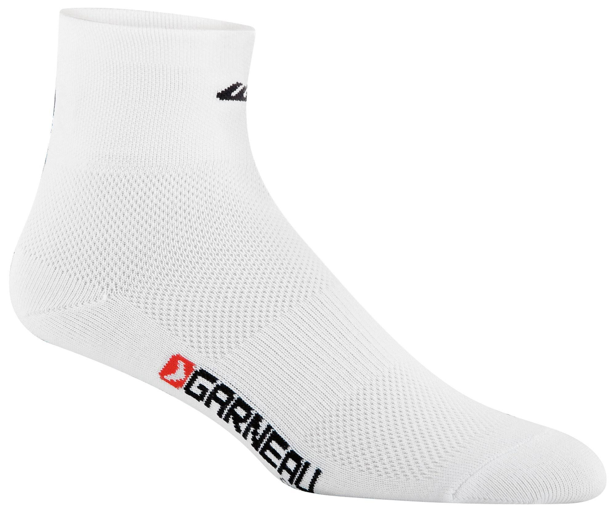 Louis Garneau Mid Versis Socks - 3pk, White, Large