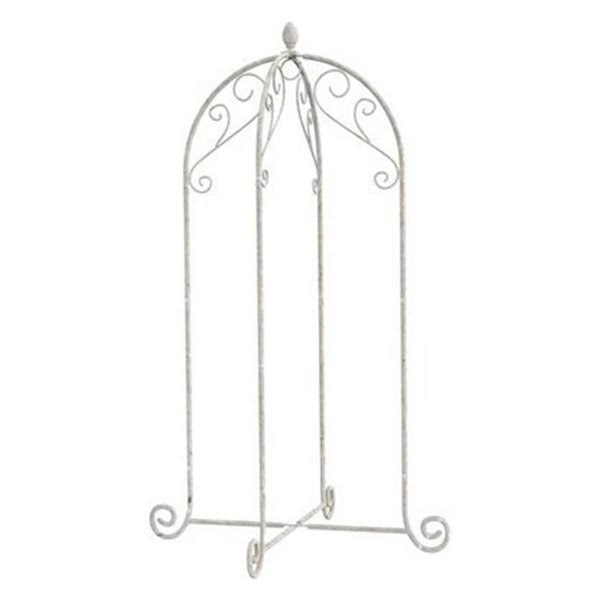 Panacea Products French Country Scroll Hanging Basket Stand, 40-in.