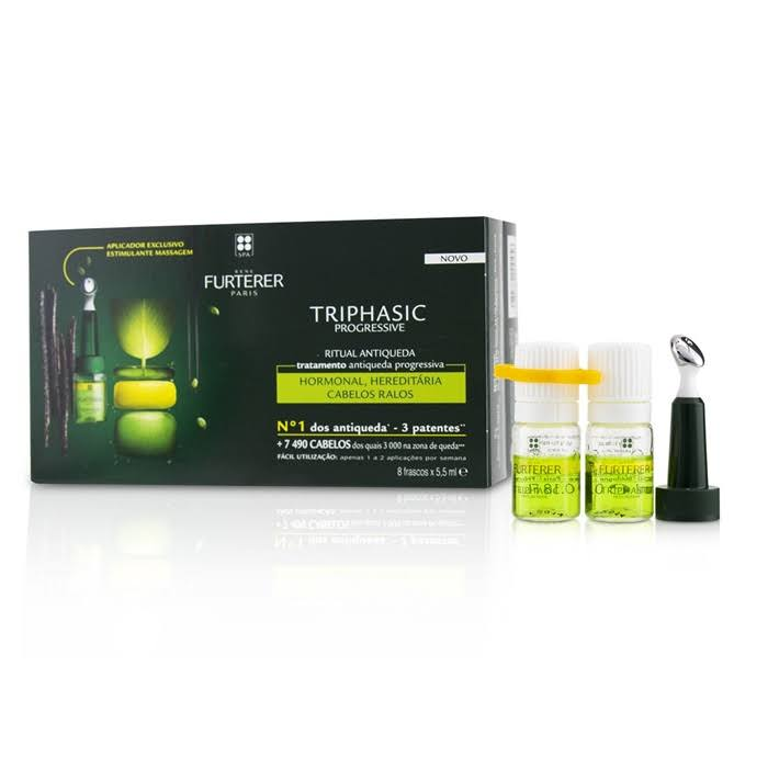 Furterer Triphasic Progressive Anti-Hair Loss Treatment - x8, 44ml
