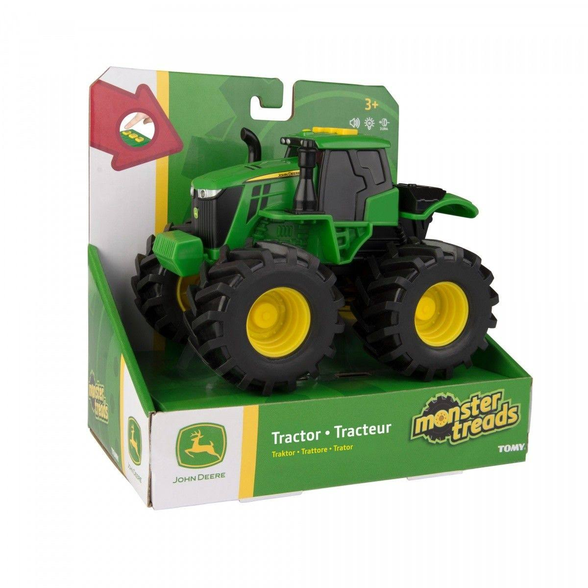 John Deere Monster Treads Lights and Sounds Tractor