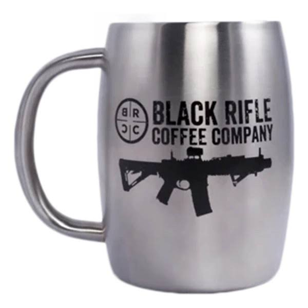 Black Rifle Coffee Company BRCC Classic Logo Stainless Steel Mug