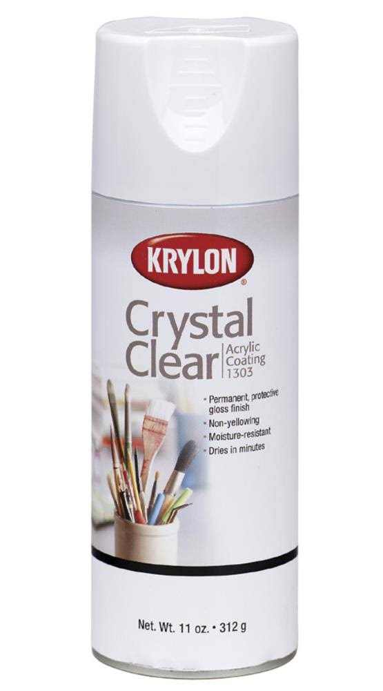 Krylon Acrylic Coating - 37g, Crystal Clear